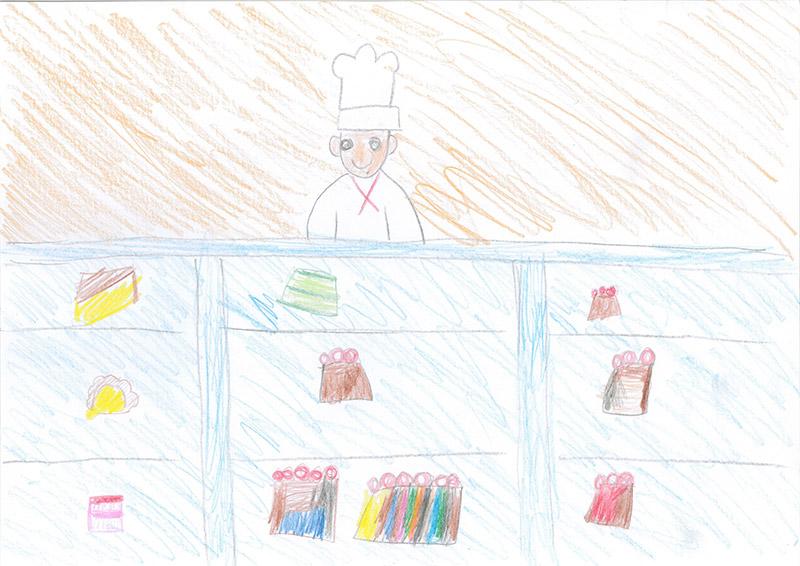 ケーキ屋さんになりたいです
