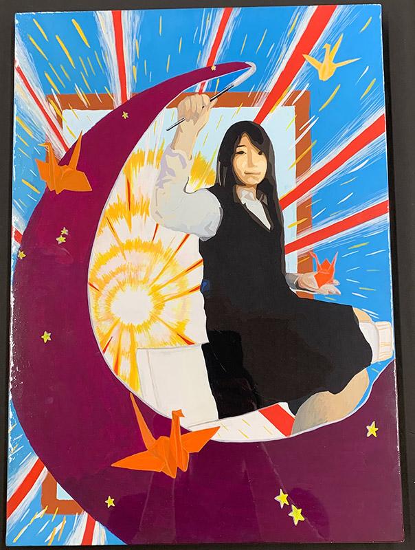 高校美術展ポスター