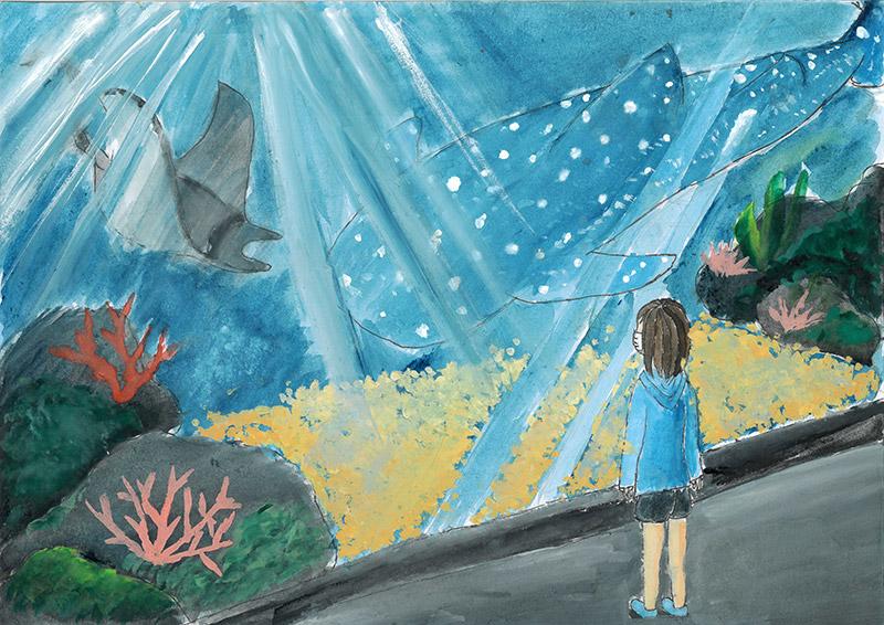 美ら海水族館に行きたい